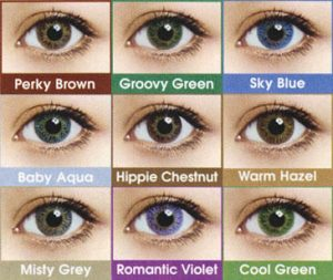 non prescription colored contacts - LensVillage